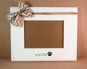 Personalized dog picture frame Pet memorial gifts pet picture frame