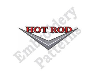 Hot Rod - Machine Embroidery Design