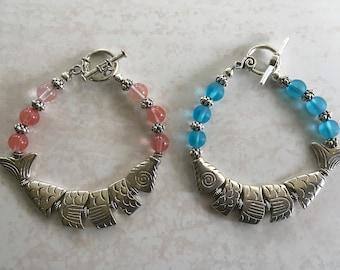 Snazzy Gal's Greek Worry Fish Bracelets