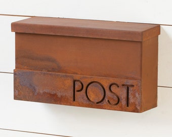 The Hyde Park Mailbox - Classic - Steel Modern Metal Letter Box