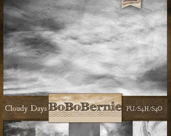 BoBoBernie Cloudy Days Overlays