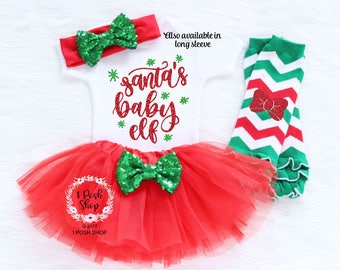 Baby Christmas Tutu, Baby First Christmas Bodysuit, Baby First Christmas Outfit, My First Christmas, Baby First Christmas Outfit Girl HC8