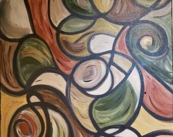 24 x 36 Original Acrylic on Canvas
