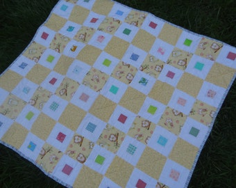 "Quilt pattern. PDF file to download. BABY CAKES quilt. 41""x45"" Baby quilt"