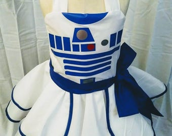 Blue Droid Dress