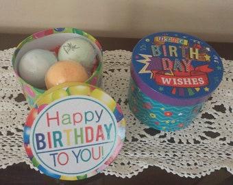 Happy Birthday Bath Bomb Gift Set