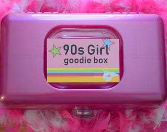 Blast from the Past 90s Girl Goodie Box Super Deluxe Kit