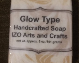 Glow Type Cold Process Goat Milk Soap
