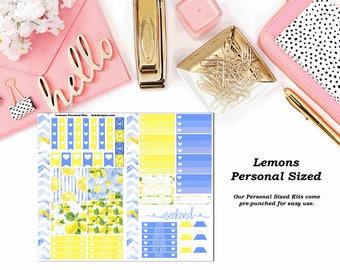 Lemons Personal Sized Planner Kit