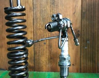 Metal Figure boxer Spark plug