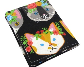 Cat Women's Small Credit Card Wallet - Perfect For Travel Or As A Front Pocket Wallet