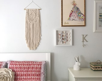 Macrame Patterns/Macrame Pattern/Macrame Wall Hanging Pattern/Wall Hanging Pattern/DIY Macrame/Name: Layered Single