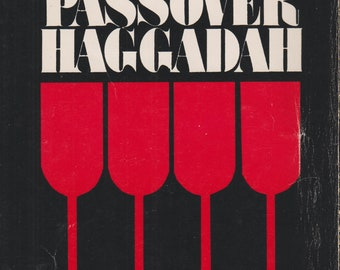 The Passover Haggadah by Rabbi Nathan Goldberg  (Softcover,  Jewish, Hebrew, Passover) 1987