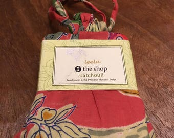 Handmade Patchouli Scented Soap from India