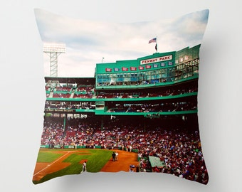 Green Monster Seats - Boston Red Sox - Fenway Park - Green Monster Pillow Case - Boston Red Sox Decor - Baseball - Green Pillow - Home Decor