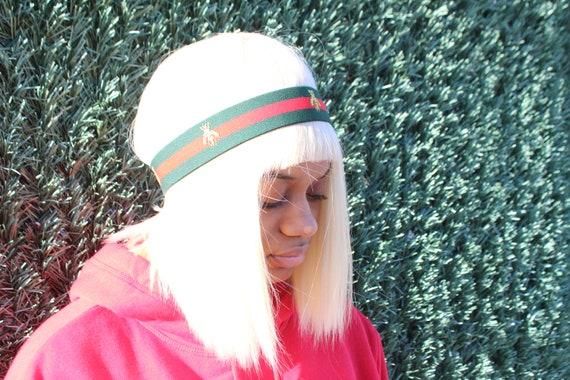 995e0dd8594 Gucci Inspired Bee Inspired Headband Designer Elastic