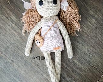 Crochet Doll Handmade Girl Birthday Gift