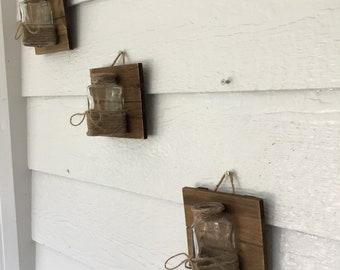 Rustic Trio Hanging Vase(9)