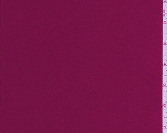 Cranberry Red Satin, Fabric By The Yard