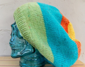 Extra large Colorful Slouch Hat
