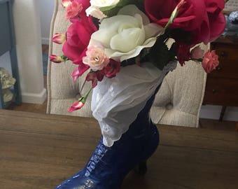 Victorian Boot Flower Arrengement