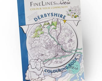 The Derbyshire Colouring Book
