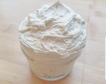 Mint Hot Chocolate Whipped Body Butter - Homemade, All natural, Organic, Vegan, Cruelty-free, Skincare, Beauty, Health
