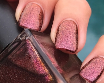 AUTUMN RAGE Multi-Chrome Color Shifting Fall Nail Polish - Nail Lacquer