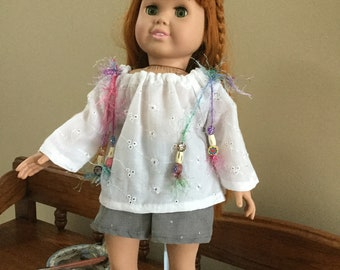 Doll Peasant Blouse