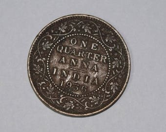 very old rare Indian Coin 1936