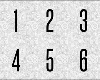 Printable: Forward & Reverse Live Sale Facebook Numbers, 1-1200   PDF Digital Download   Mirror Image Backwards Tags   LLR Paparazzi Paisley
