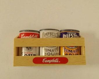 1995 Vintage Campbell's Soup Refrigerator Magnet Set