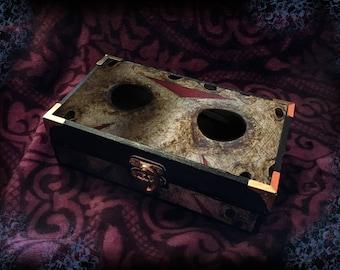 Friday the 13th • Jason Voorhees • Wooden Trinket Box • Jewellery Box
