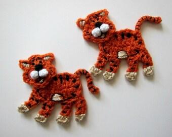 Crochet applique pattern crochet sheep pattern crochet sheep 1pc 5 crochet tiger cat applique dt1010fo