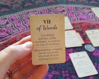 New Orleans Pocket Tarot Deck & Spreads for Beginners