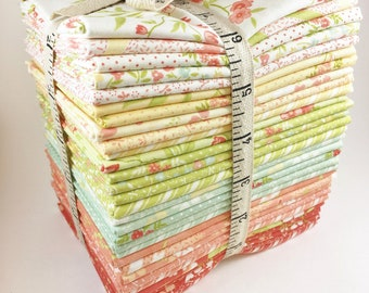 Ella and Ollie Fabric Fat Quarter Bundle - Fig Tree Fabric Bundle - Moda Fabric - 30pc