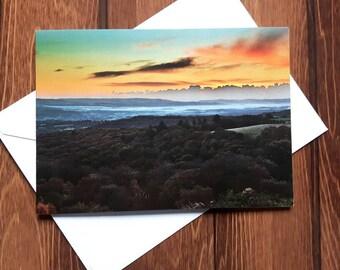 Dartmoor Landscape Greetings card C5