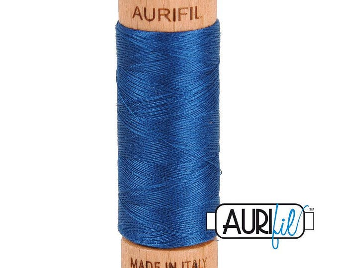 Aurifil 80wt -  Medium Delft Blue 2783