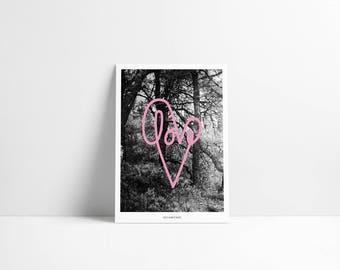 Postcard / love