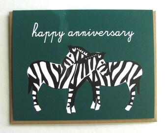Necking Zebras