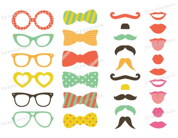 Diy Photo Booth Props Templates Choice Image - template design free ...