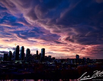 Summer Sunset | Fine Art Photography Print | Calgary, Alberta Skyline
