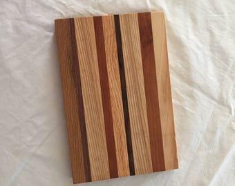 Cutting Board, Edge Grain Cutting Board, Wooden Cutting Board, Hardwoods Cutting Board, Cheese Board, Bread Knife, Wood Carving Board