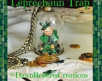 St. Patrick's Day gift~ Leprechaun Trap~ Lucky~ Luck o' the Irish