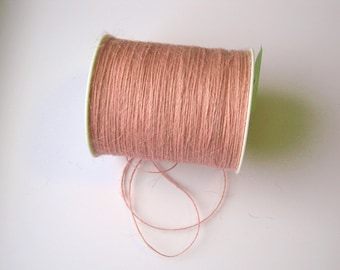 50 Yards of 1mm Pink Jute Twine