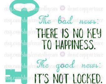 No Key To Happiness digital file