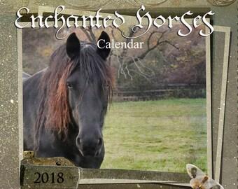 Enchanted Horses Wall Calendar 2018