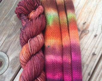 Atlas Moth Shadow Stripe XL Fall Wt Sock set