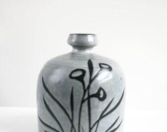 Mid Century Raymor Italy Pottery Vase