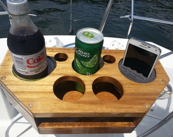 Drink & Accessory Boat Caddy